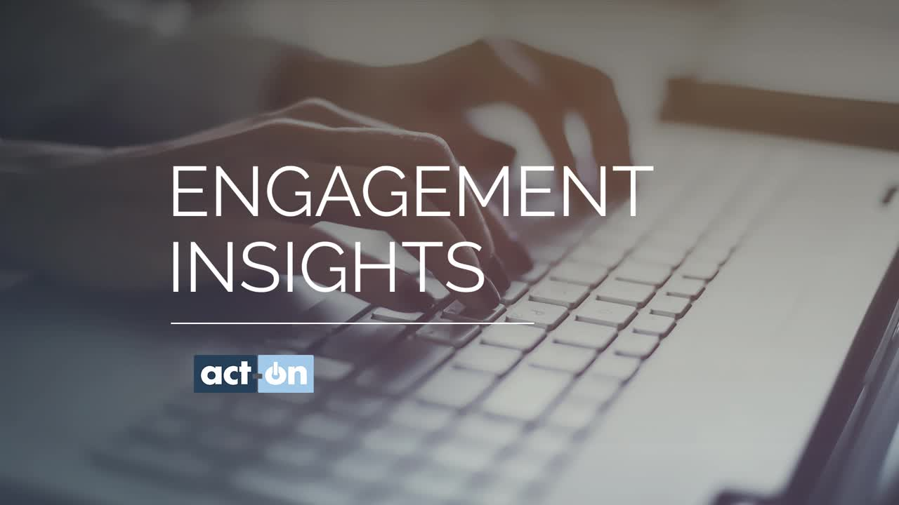 Track Actionable Metrics with Engagement Insights From Act-On