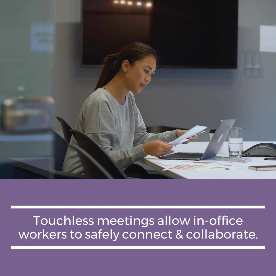 Touchless Meetings Back to Work Solutions by Wachter