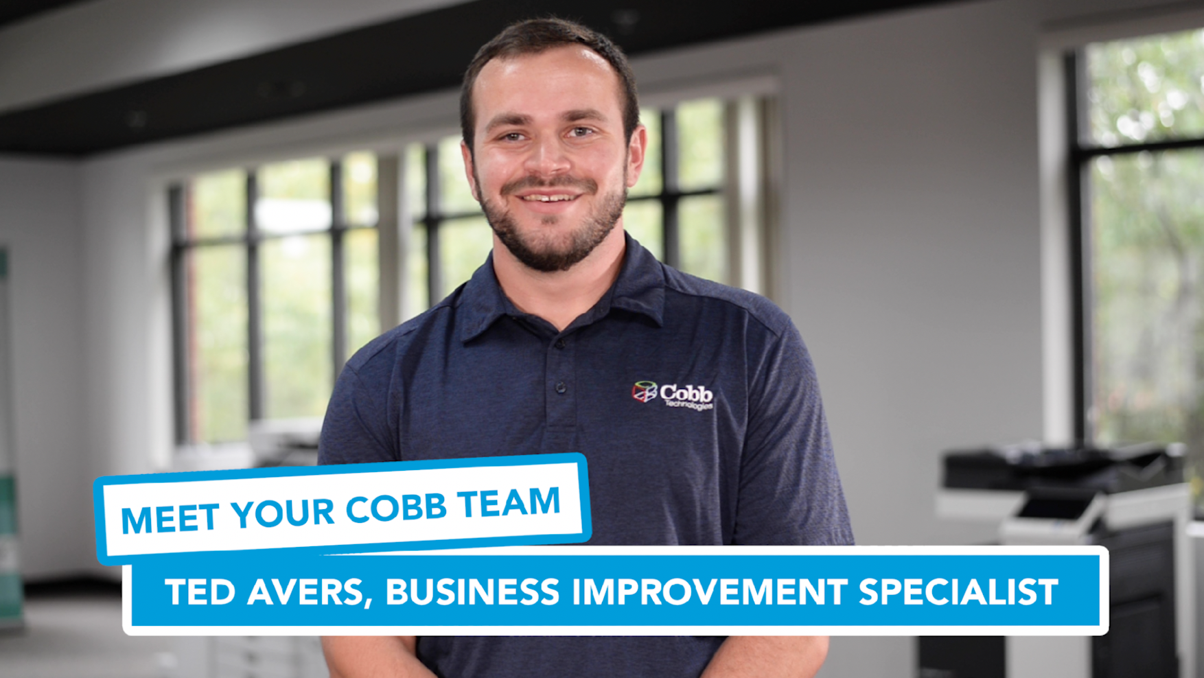 Meet Your Cobb Team Ted Avers, Business Improvement Specialist
