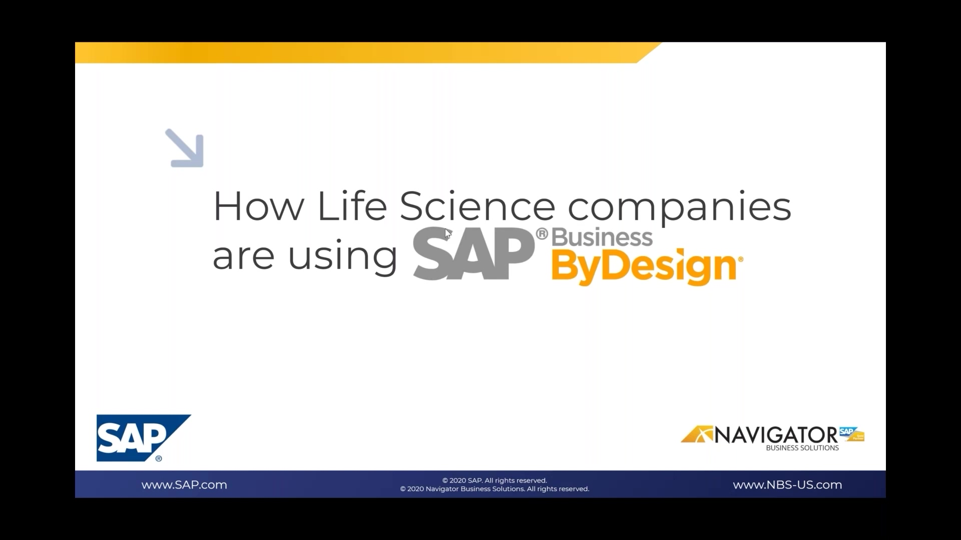 How growing Life Science companies can leverage SAP Cloud ERP