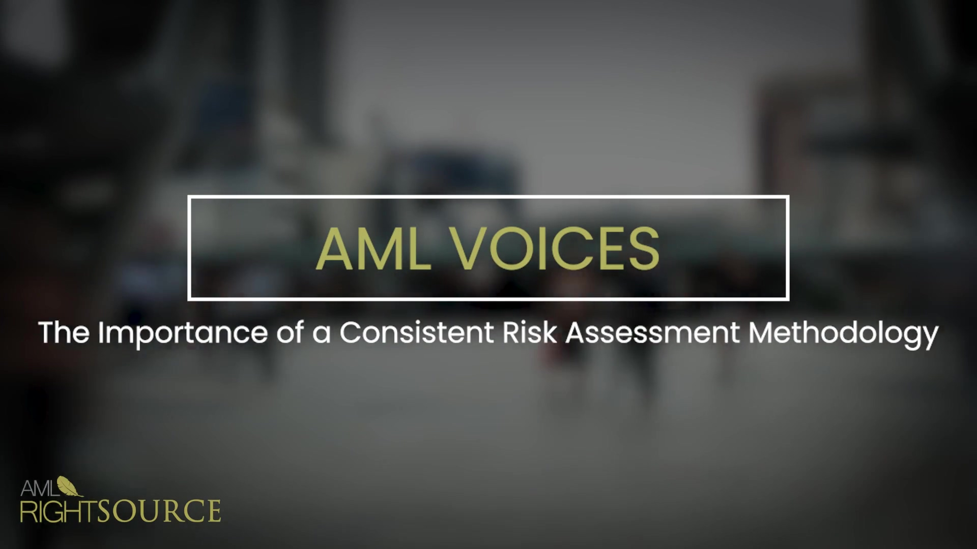 The Importance of a Consistent Risk Assessment Methodology