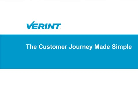 The Customer Journey Made Simple (Dec. 4, 2014 Webinar)