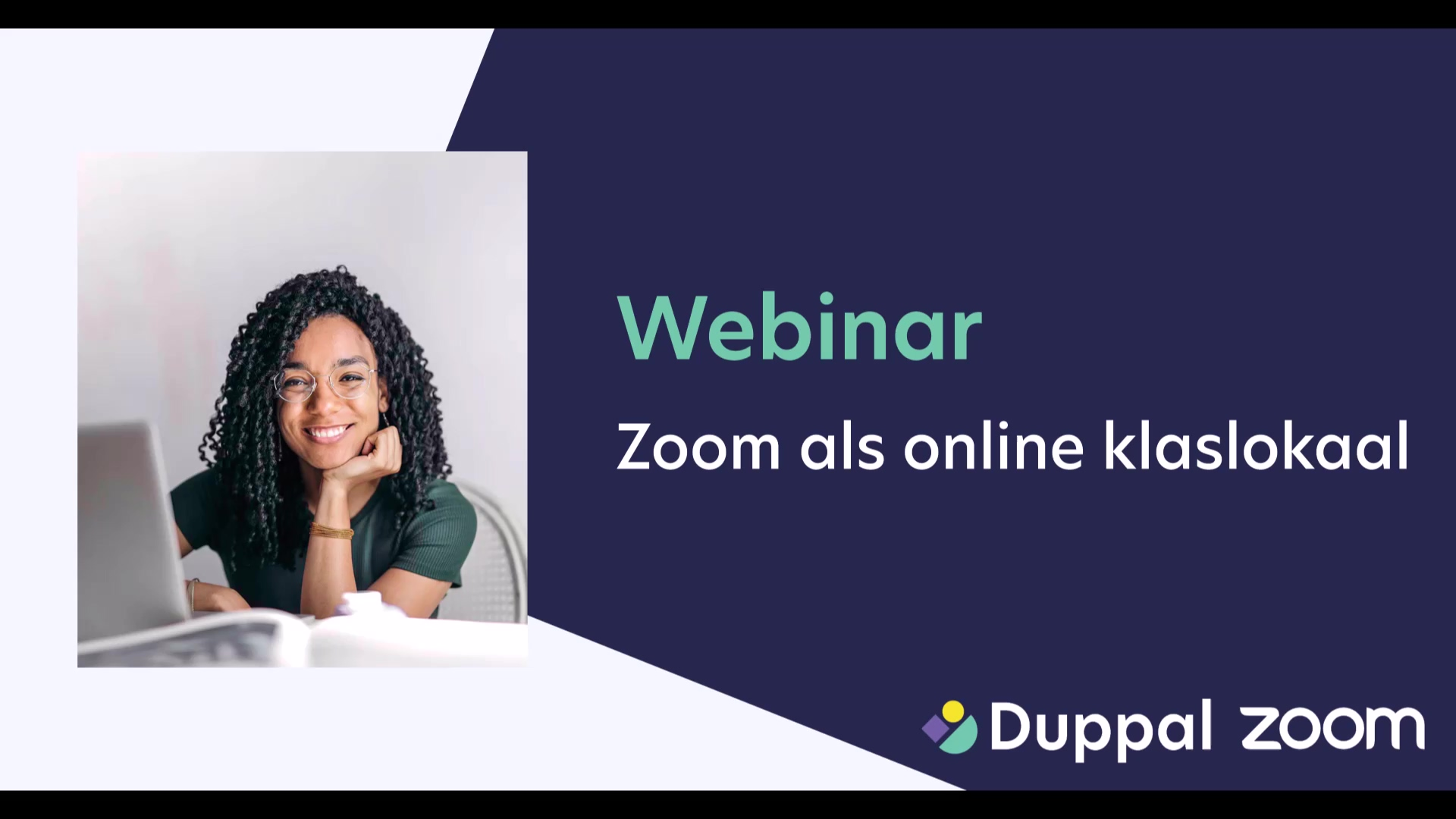 Duppal webinar - Zoom als online klaslokaal