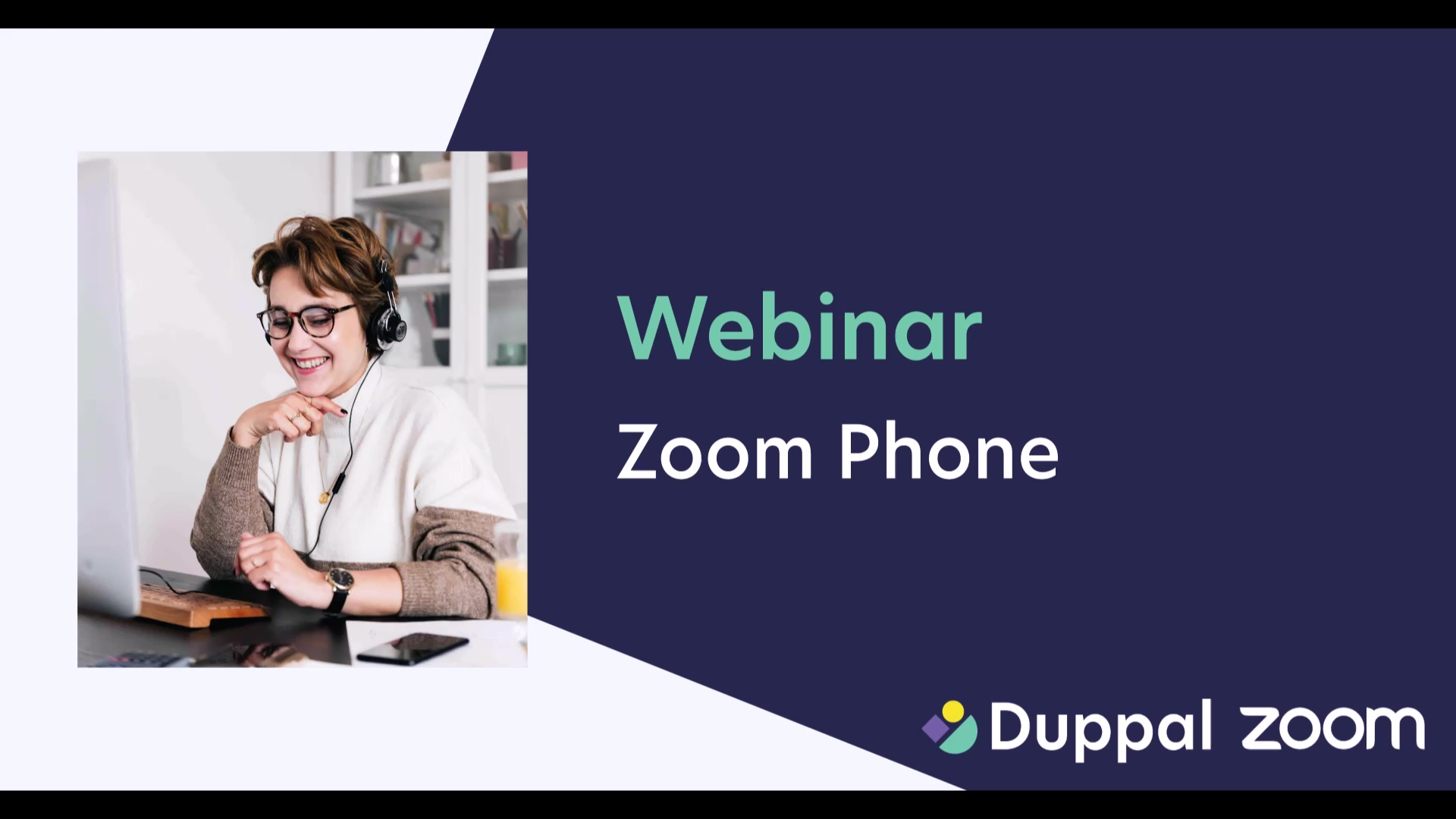 Duppal webinar - Zoom Phone