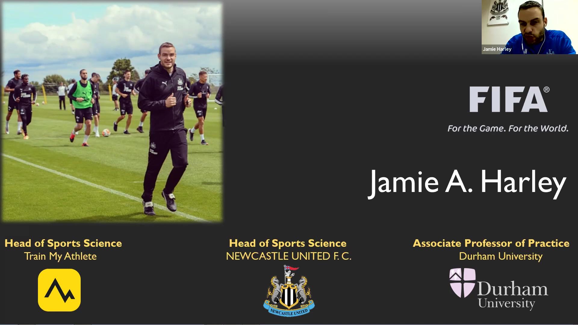 Webinar - Jamie Harley - Catapult Sports Wearable Technology 2