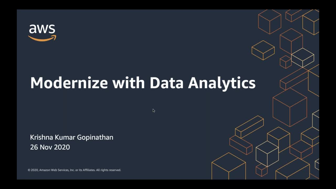 Modernization with Data Analytics