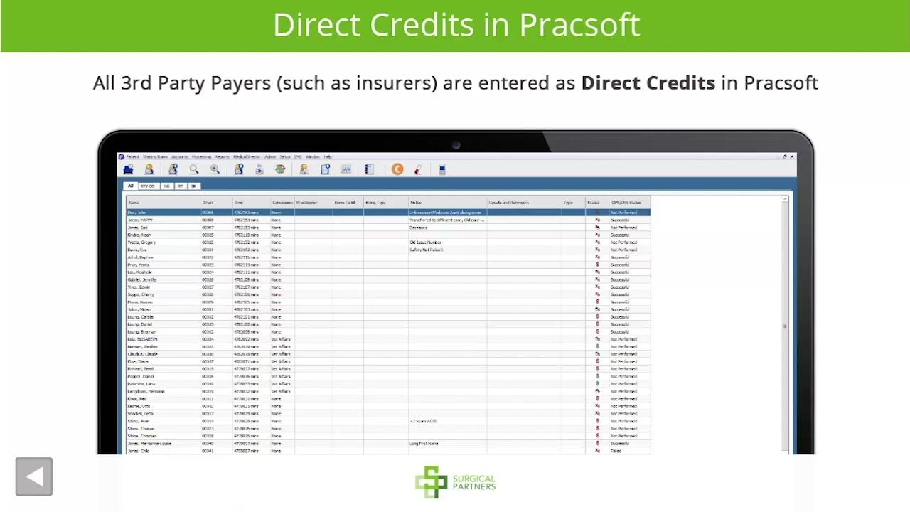 Receipting-direct-credits-in-Pracsoft