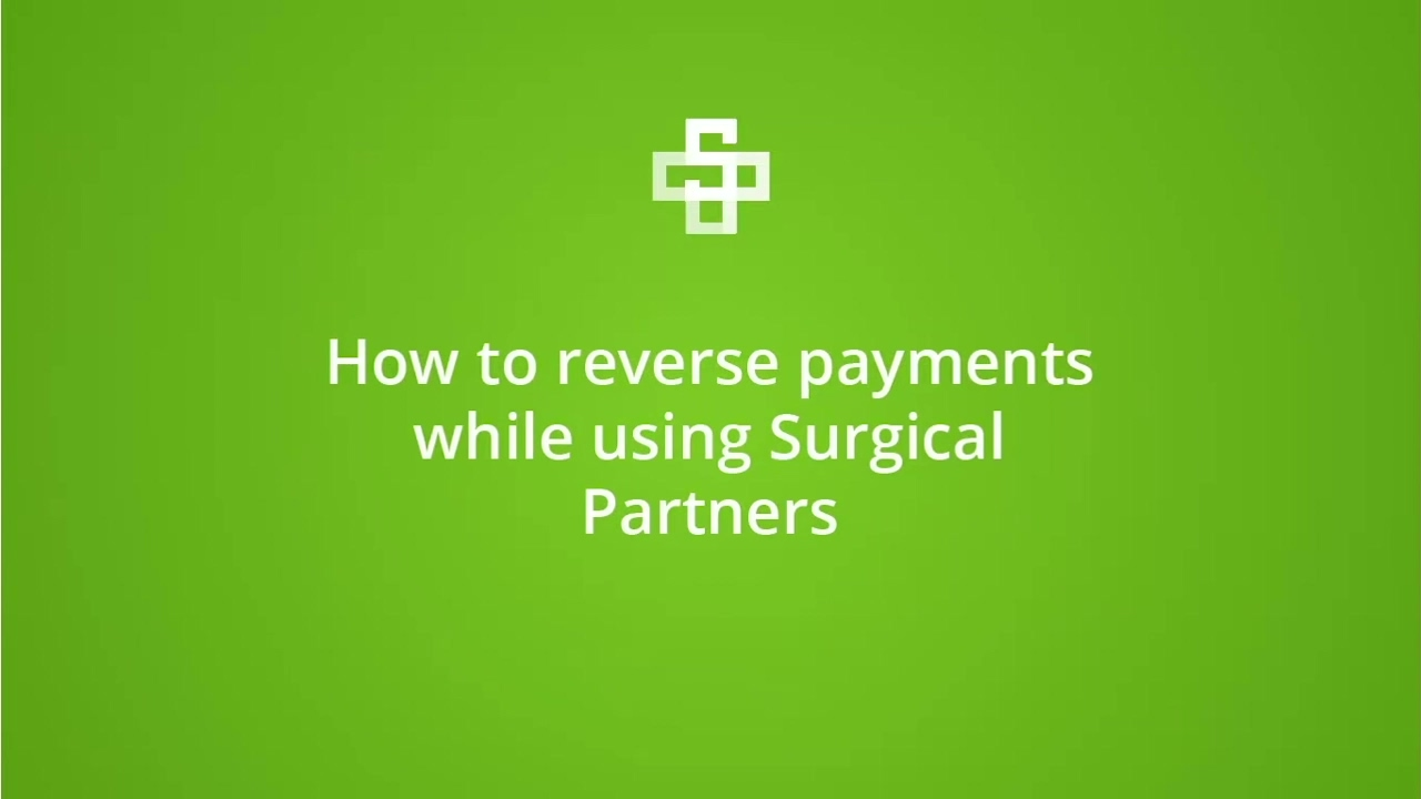 Reverse payments setup in Best Practice