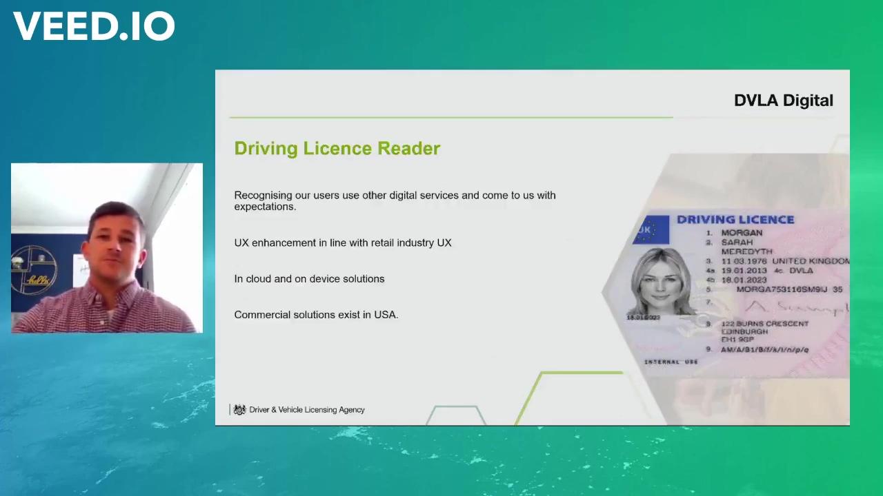 Rob James - Driving Licence Reader