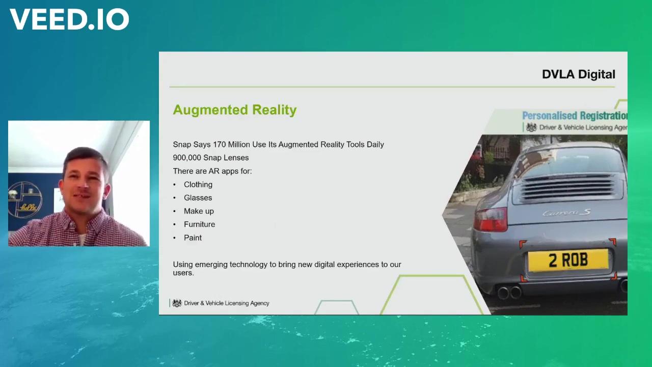 Rob James - Augmented Reality