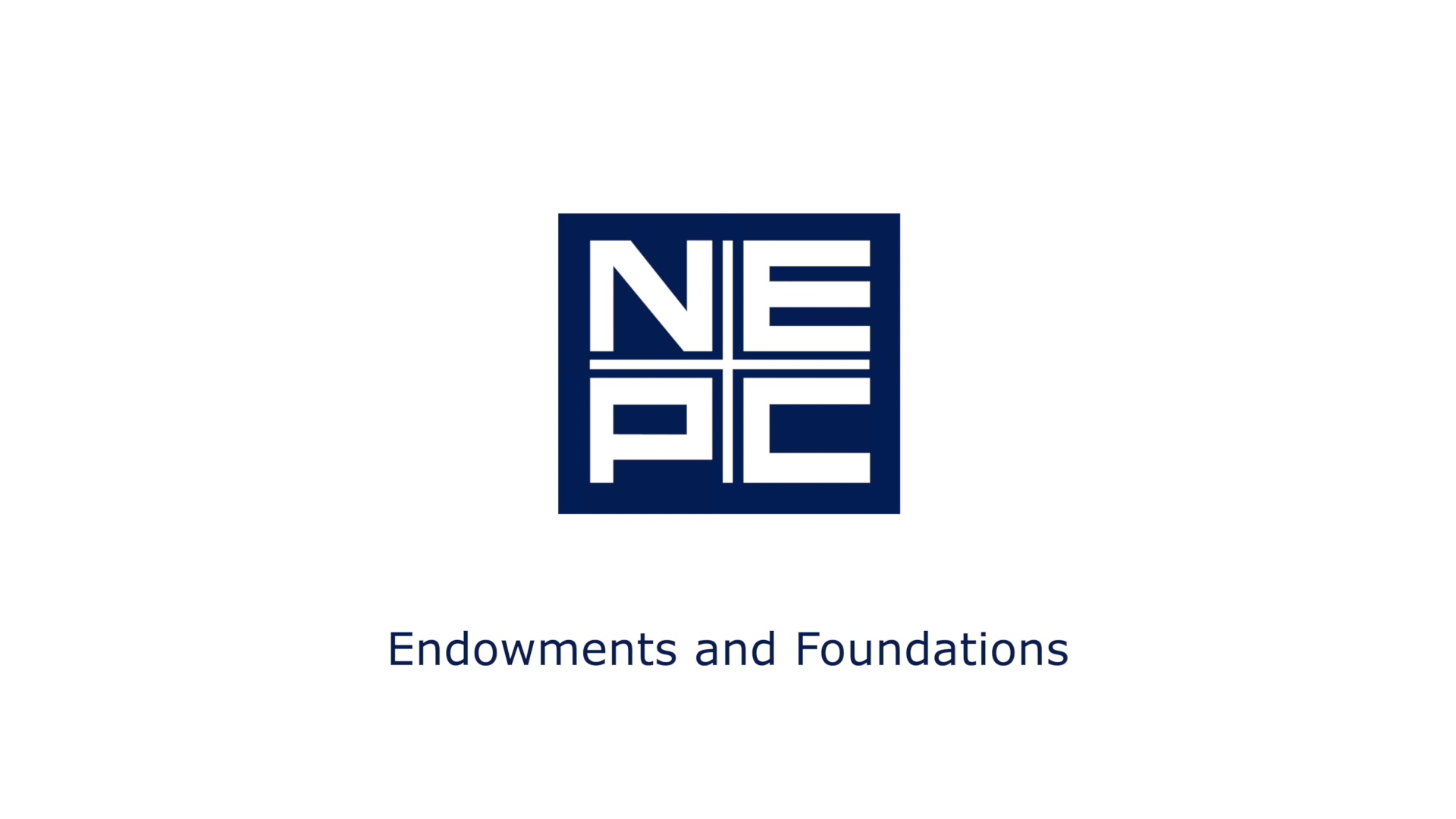 NEPC - Endowments and Foundations