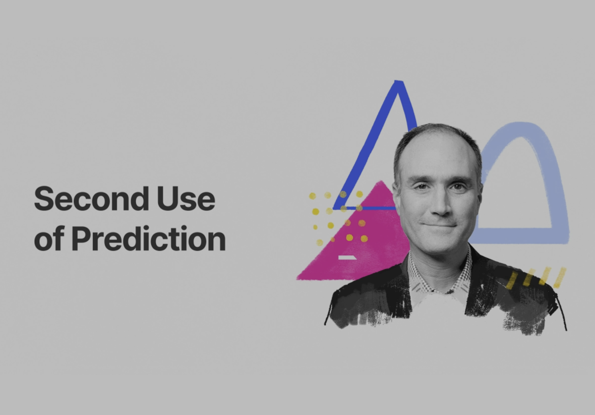 Video thumbnail - second use of prediction