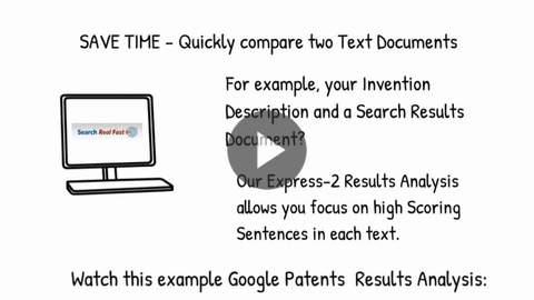 RA-1 SRF Results Analysis tab Google Patents example
