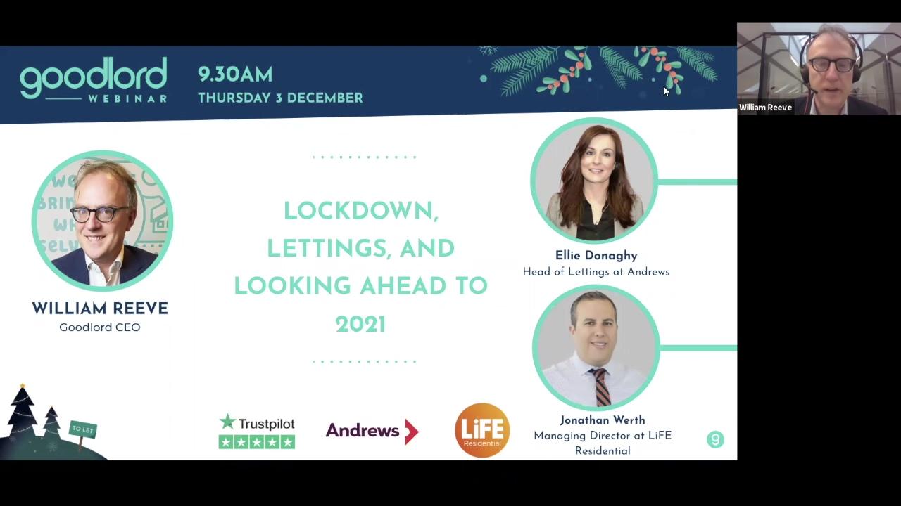 Lockdown,lettings, looking ahead to 2021