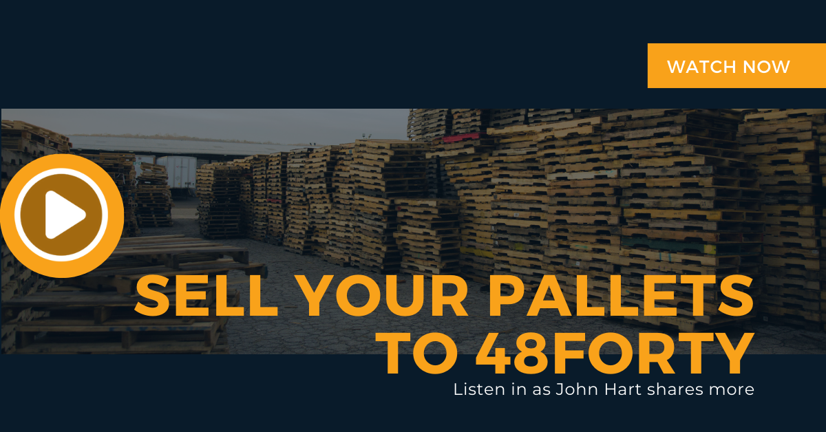 Sell Your Pallets to 48forty