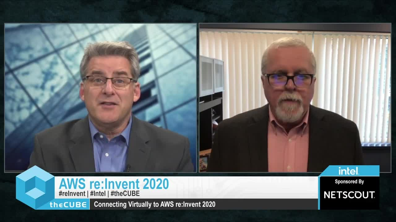 NETSCOUT with theCube @ AWS re:Invent 2020