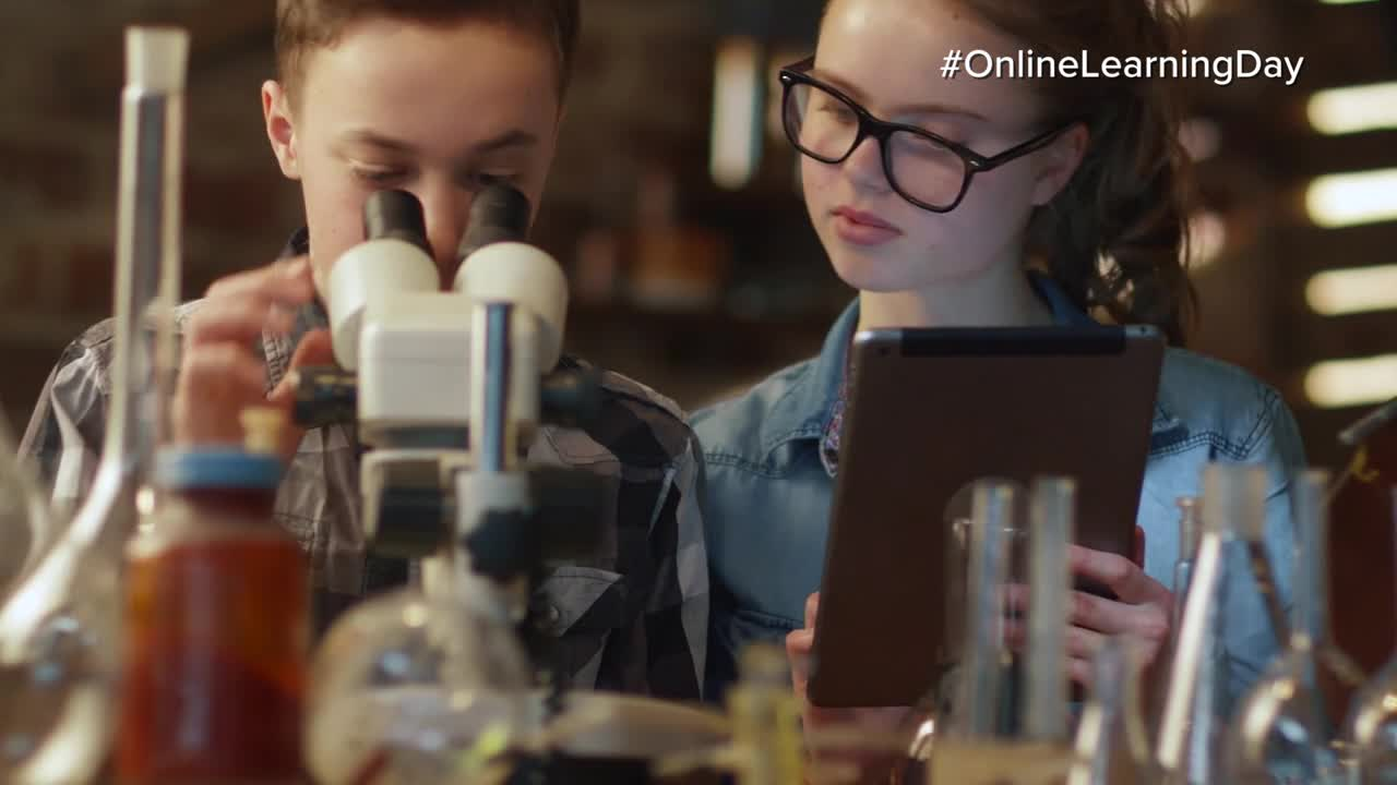 National Online Learning Day commercial