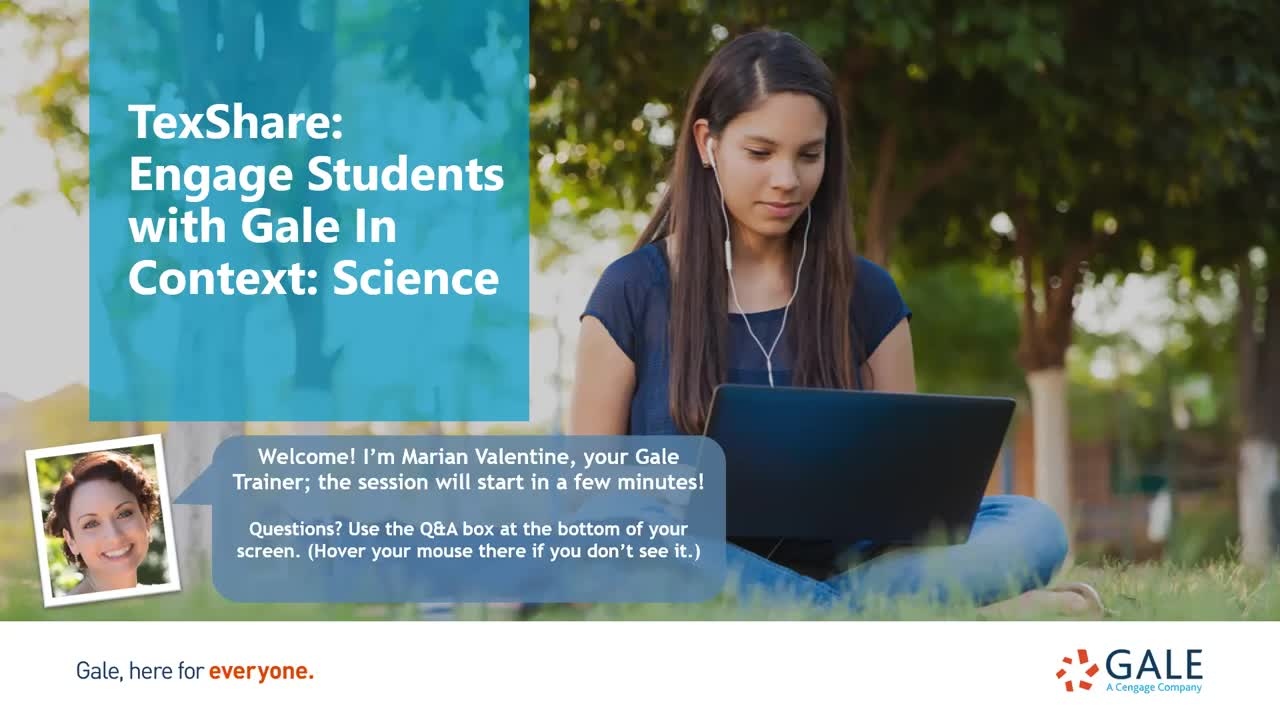 TexShare: Engage Students with Gale In Context: Science Thumbnail