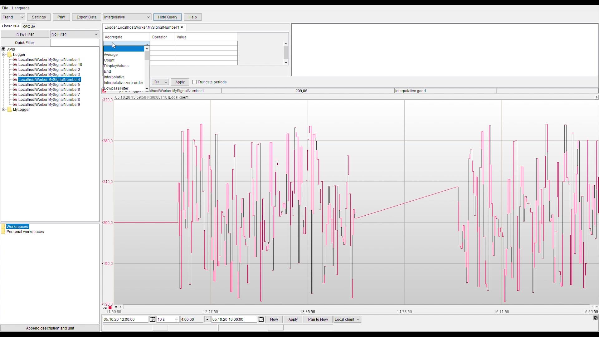 Prediktor Process Explorer