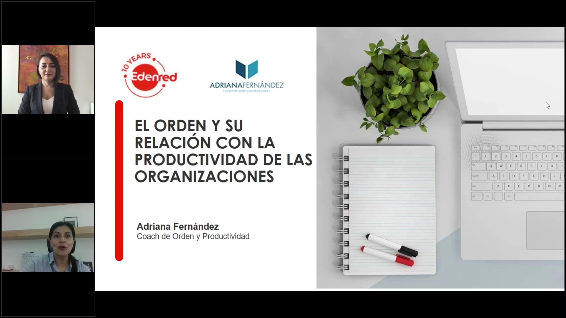 76 clip webinar El orden y su relación con la productividad de las organizaciones
