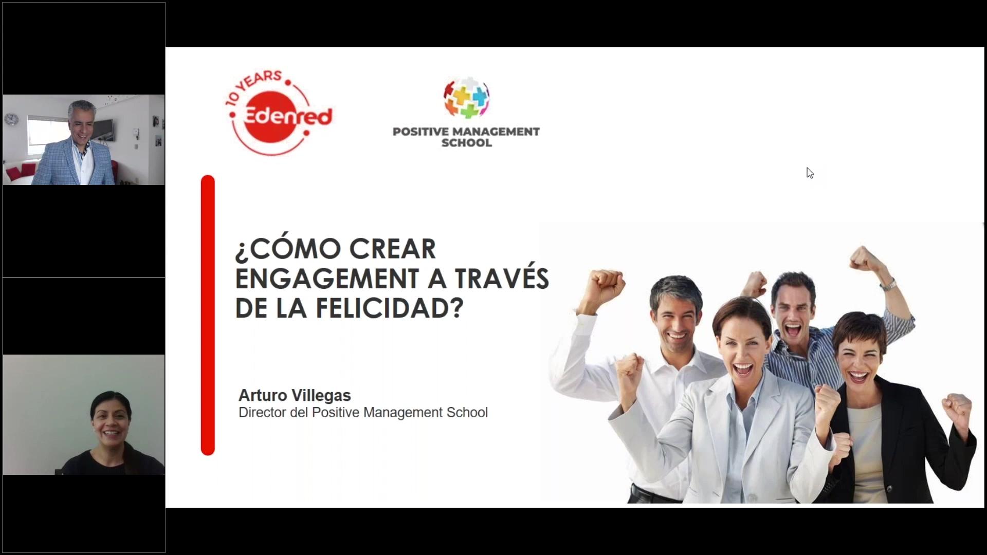 75 clip webinar Cómo crear engagement a través de la felicidad