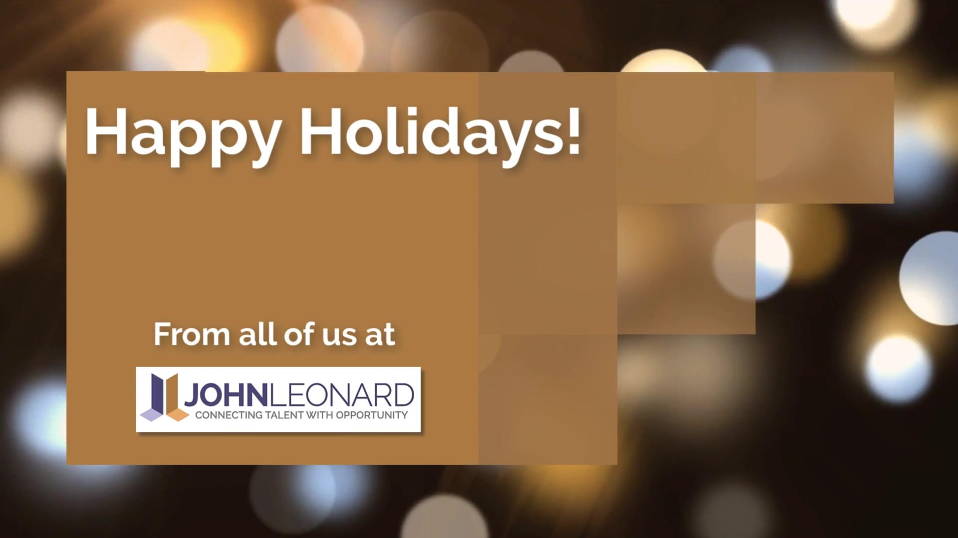JL Happy Holidays Video