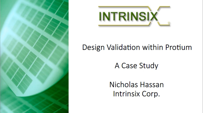 Design-Validation-Within-Protium-Platform-A-Case-Study