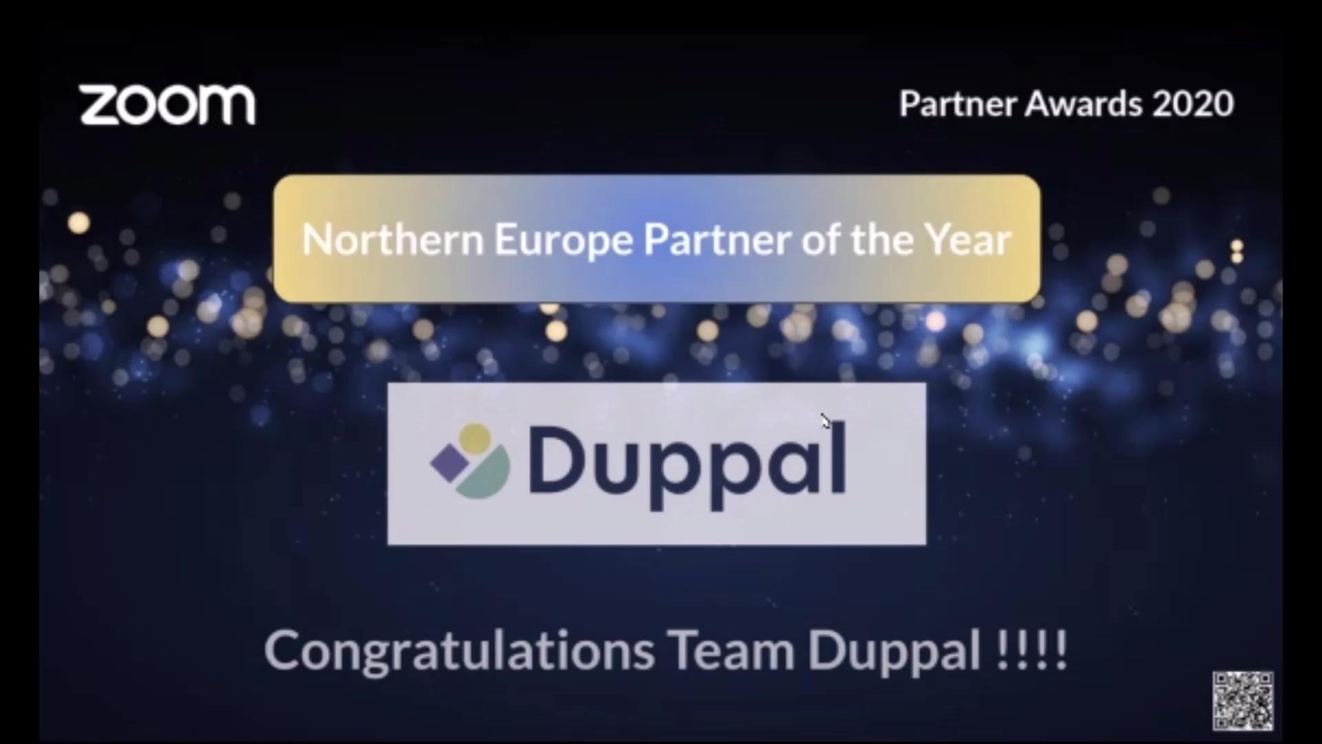 Duppal - Zoom awards EN