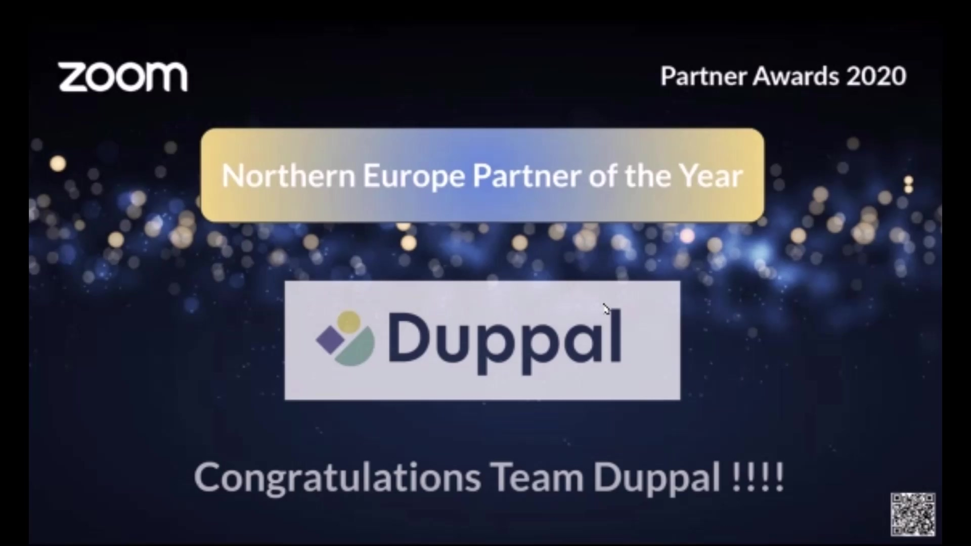 Duppal - Zoom awards NL
