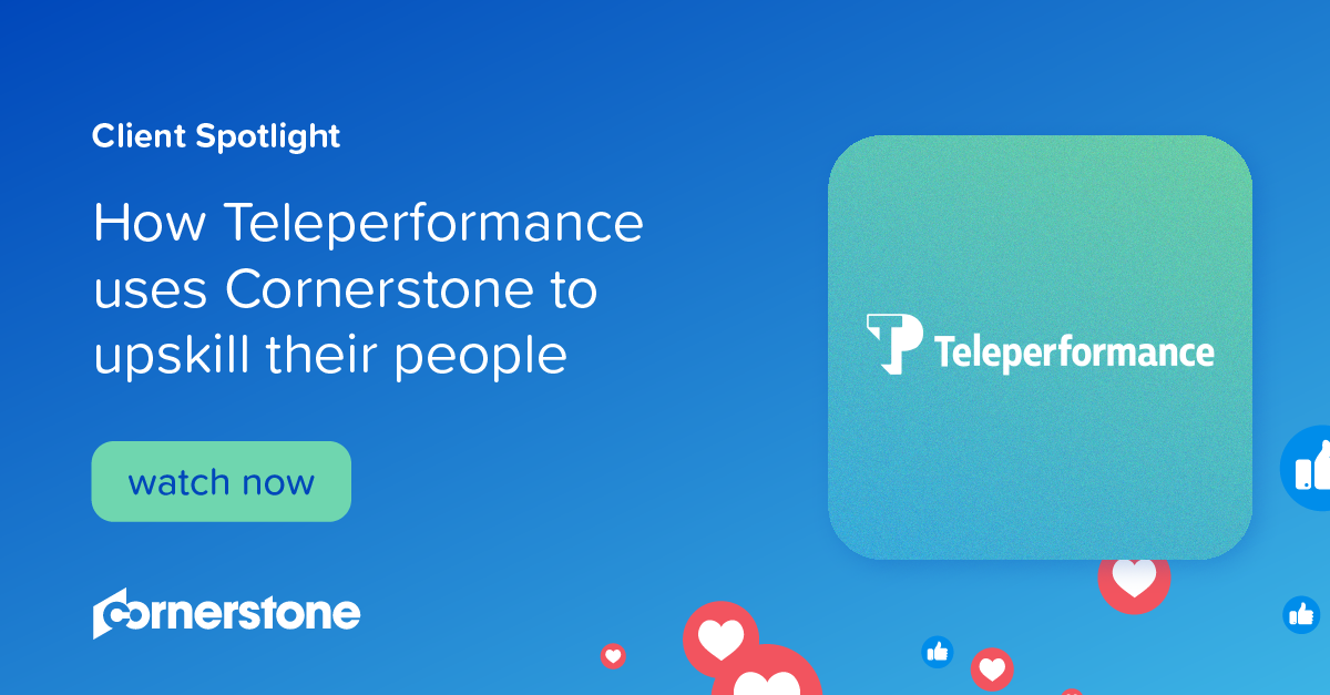 How Teleperformance uses Cornerstone to upskill their people I Client Spotlight