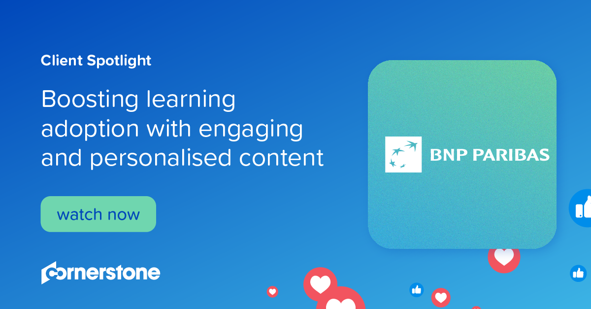 Boosting learning adoption with engaging and personalised content I Client Spotlight