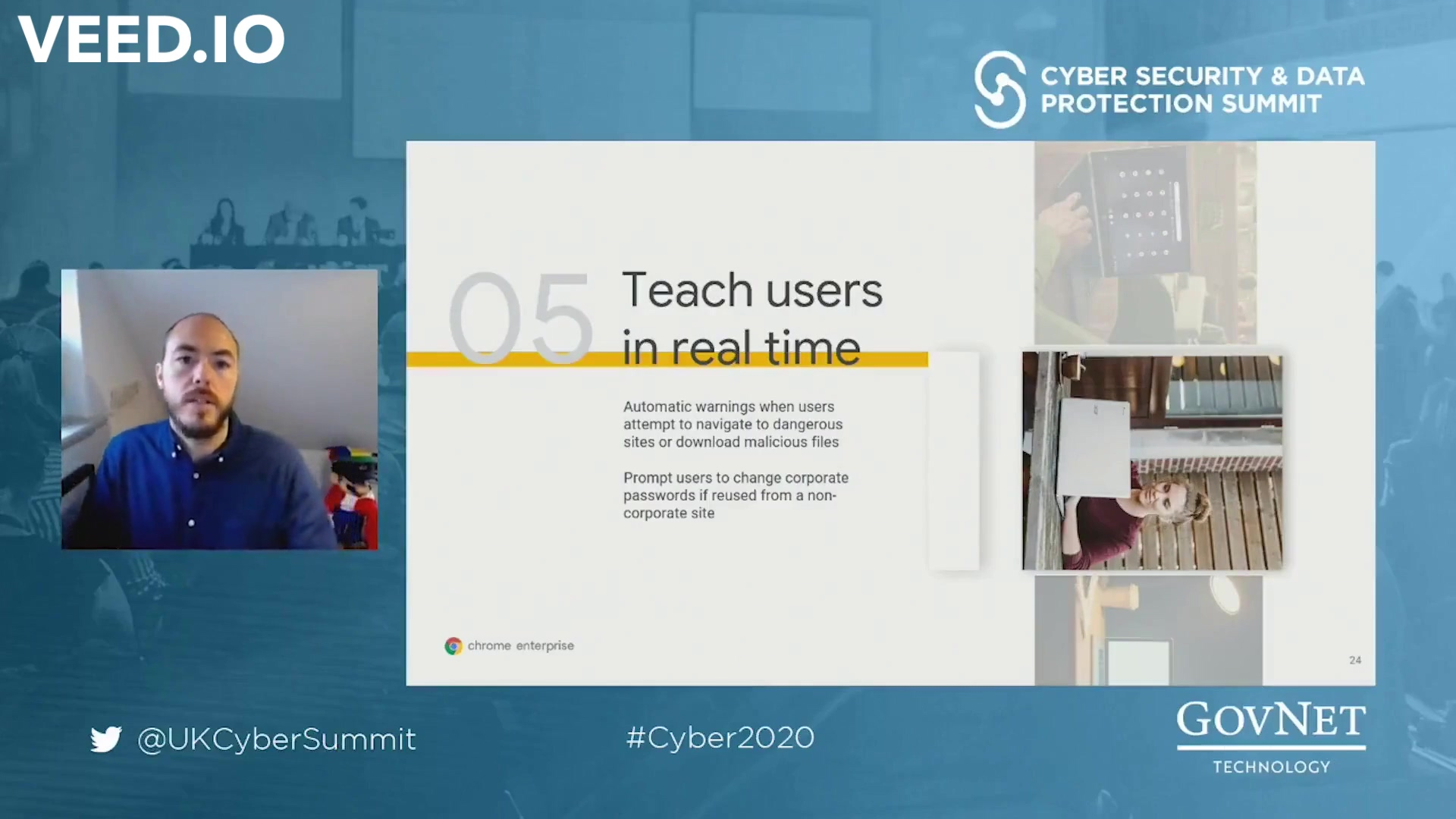 Cyber - Google - Teach users in real time