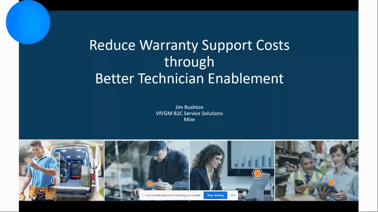 Jim Rushton - Reduce Warranty Support Costs through Better Technician Enablement