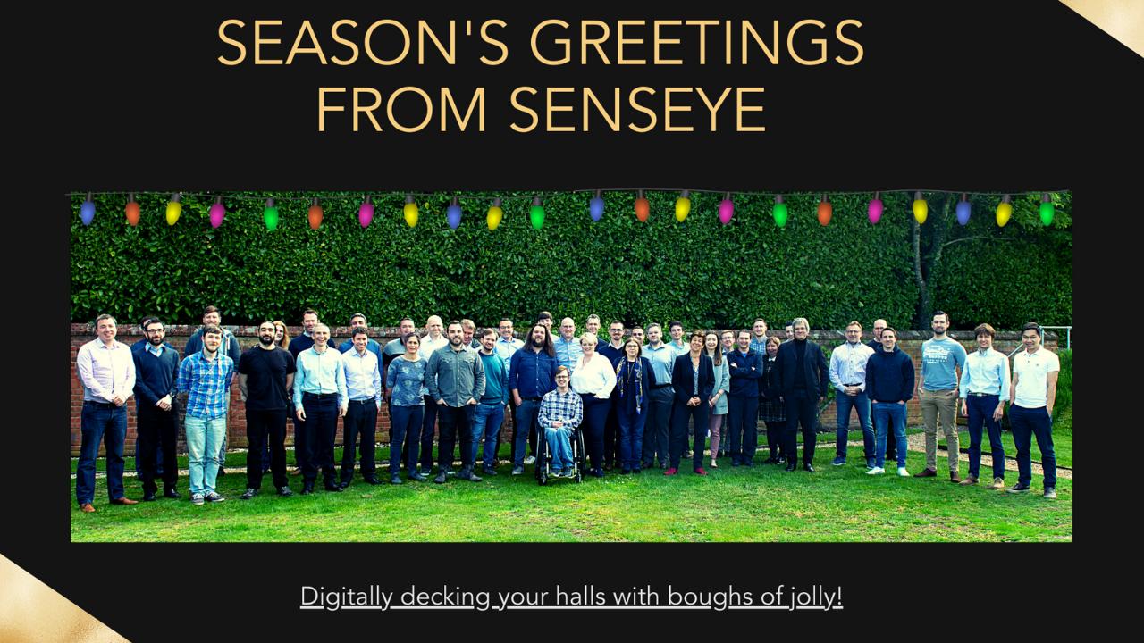 Seasons Greetings from senseye