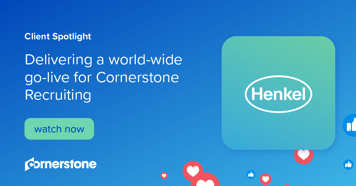 Delivering a world-wide go-live for Cornerstone Recruiting I Client Spotlight