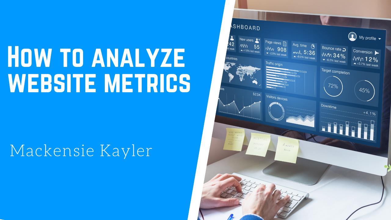 Analytics Video Blog post