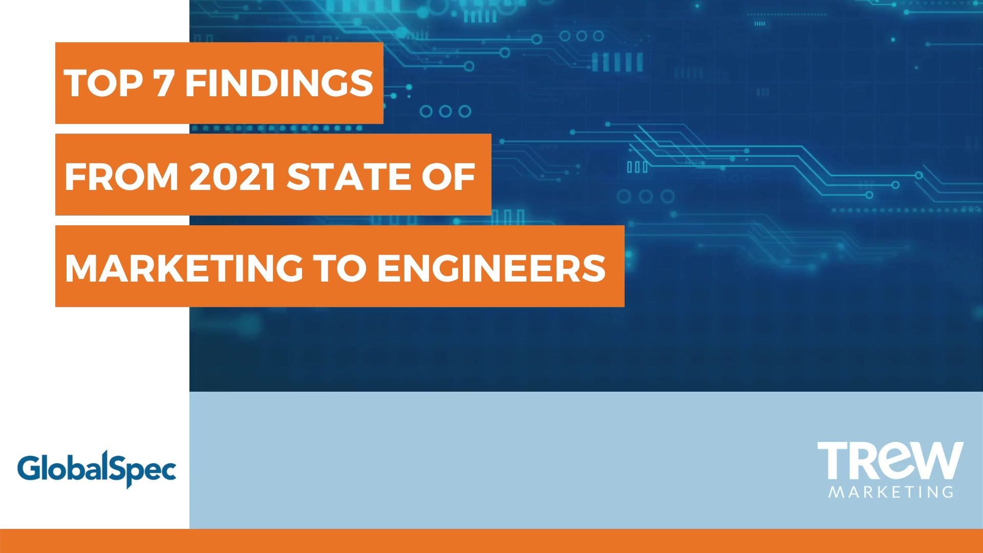 2021 State of Marketing to Engineers Video