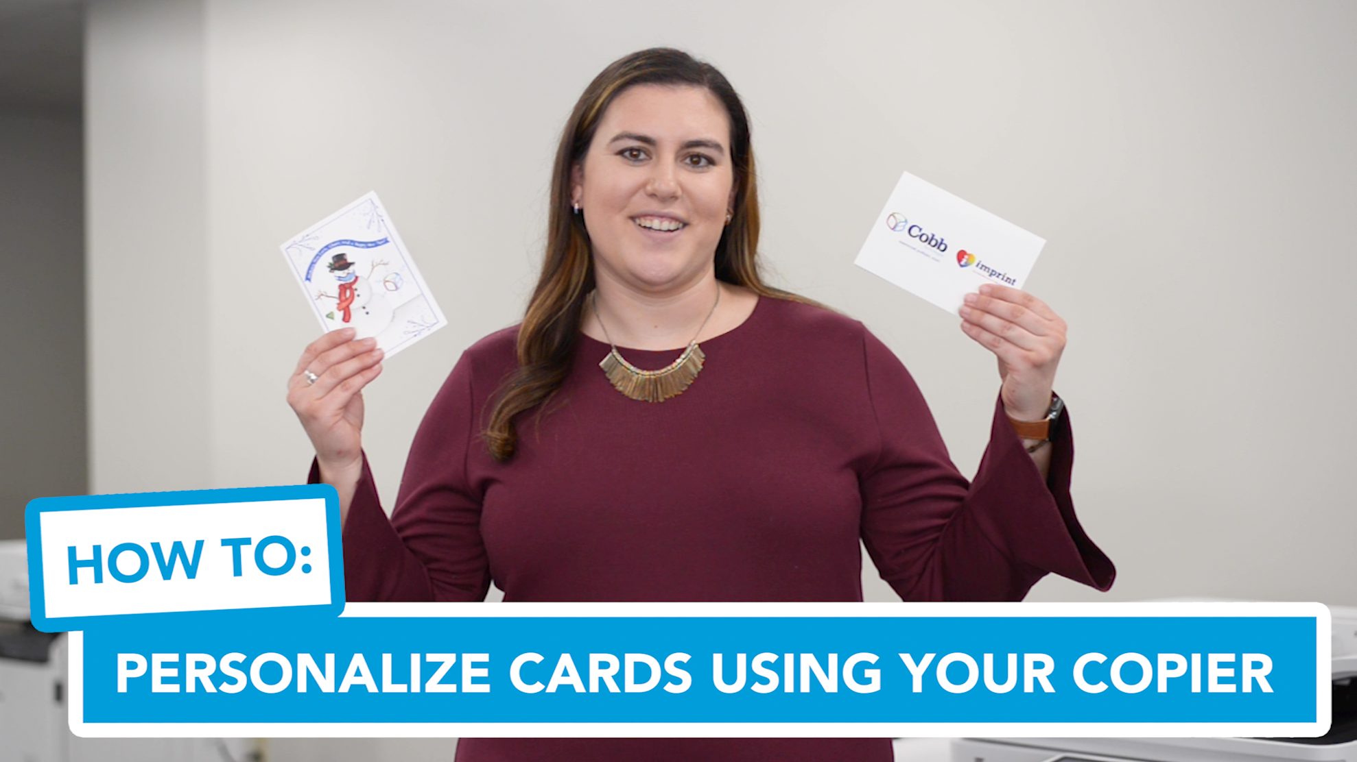 Preview -  Personalizing Cards Using Your Copier