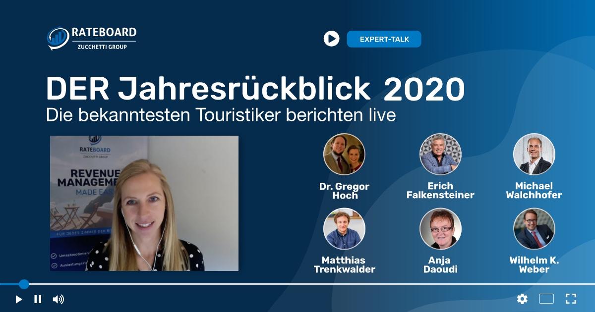 DER Jahresrückblick 2020 - Die bekanntesten Touristiker berichten live