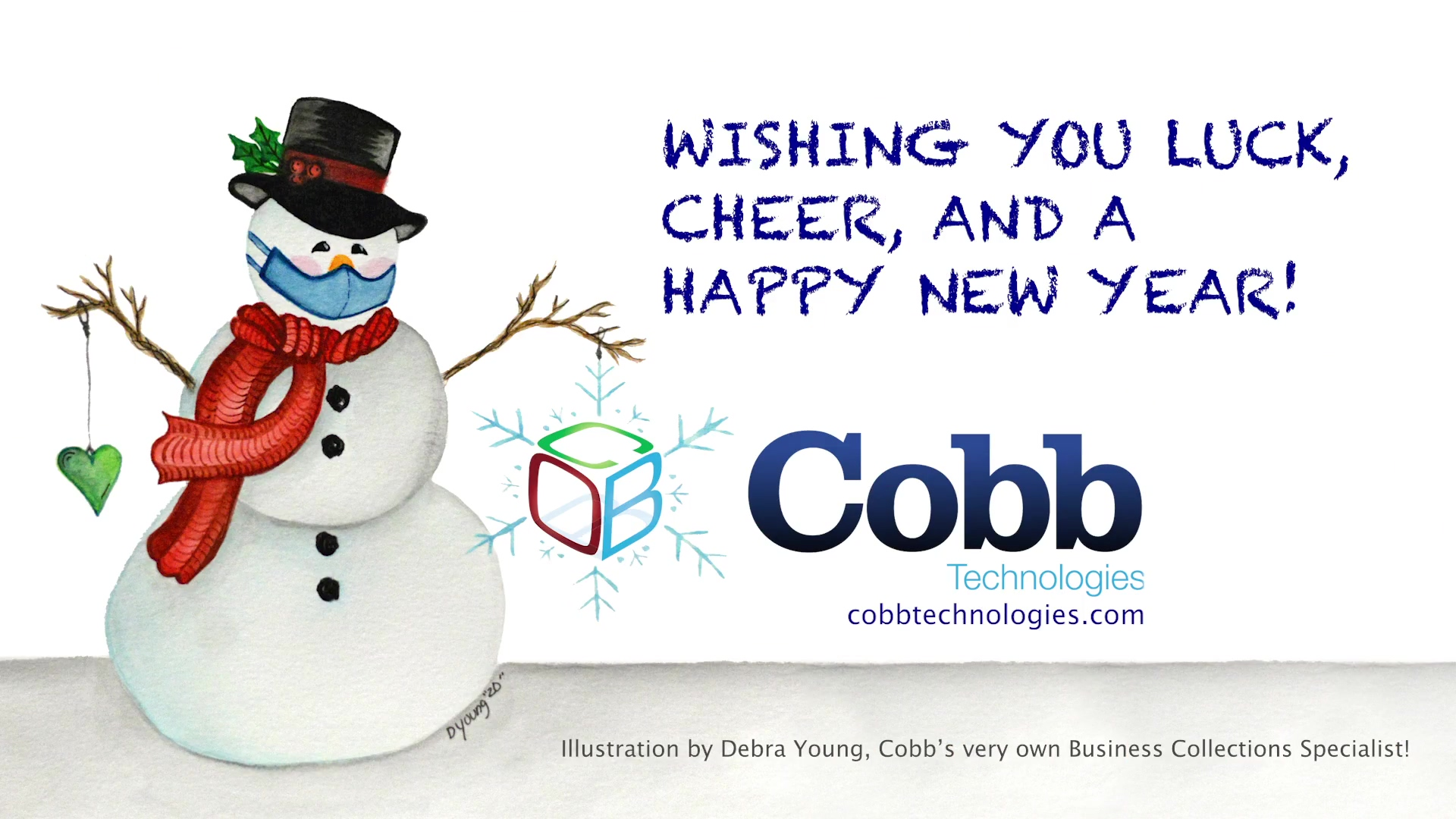 Happy Holidays From Our Cobb Family to Yours