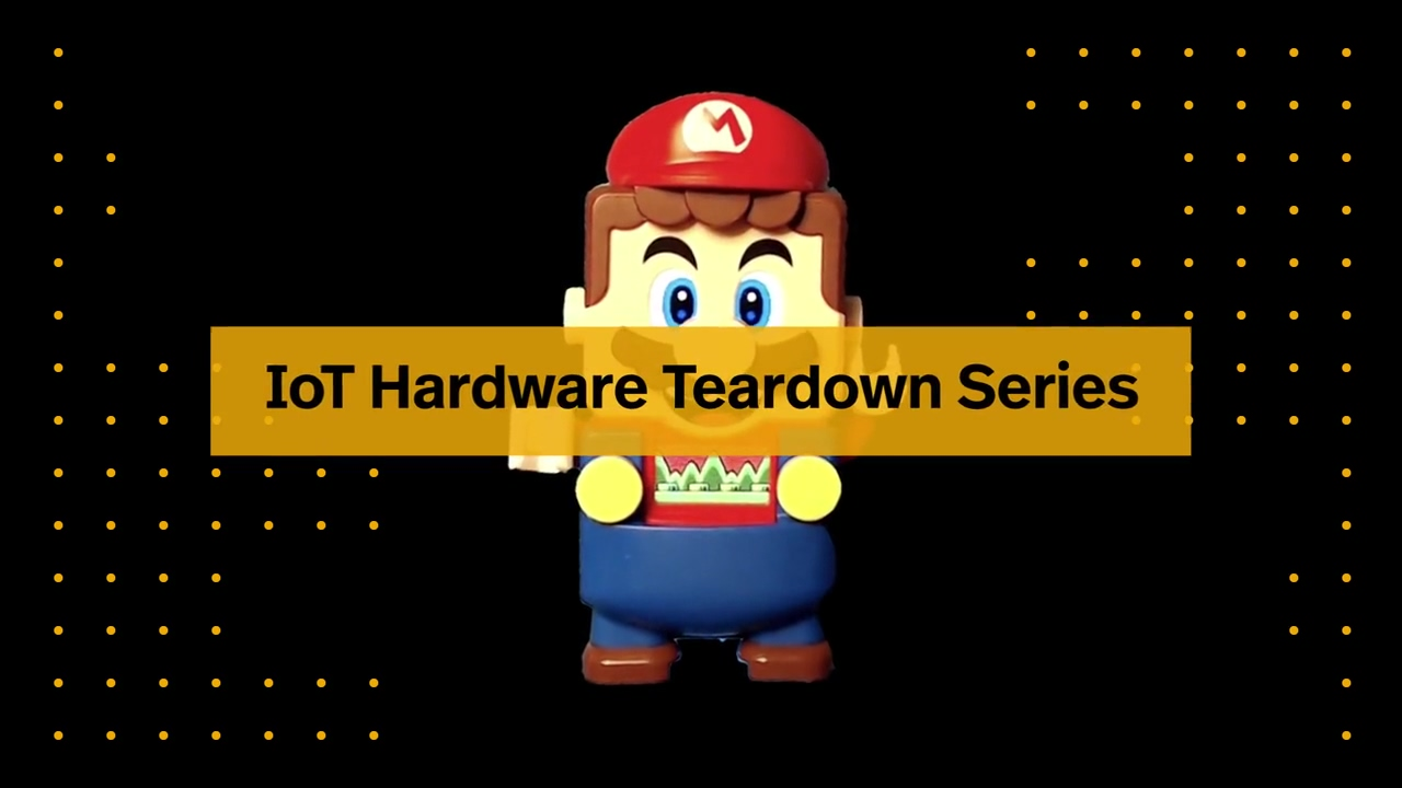 IoT Hardware Teardown Series _ How Does a LEGO® Mario™ Work_