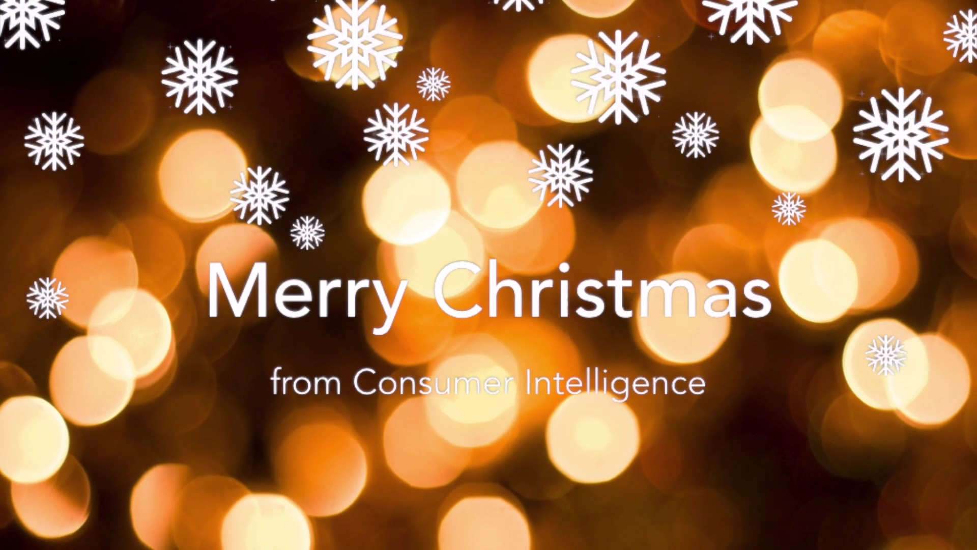 Christmas message from Ian Hughes