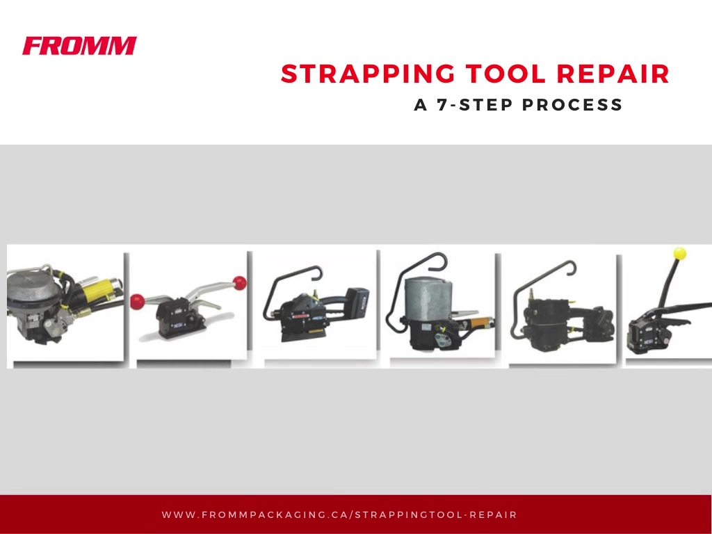 Strapping Tool Repair How to