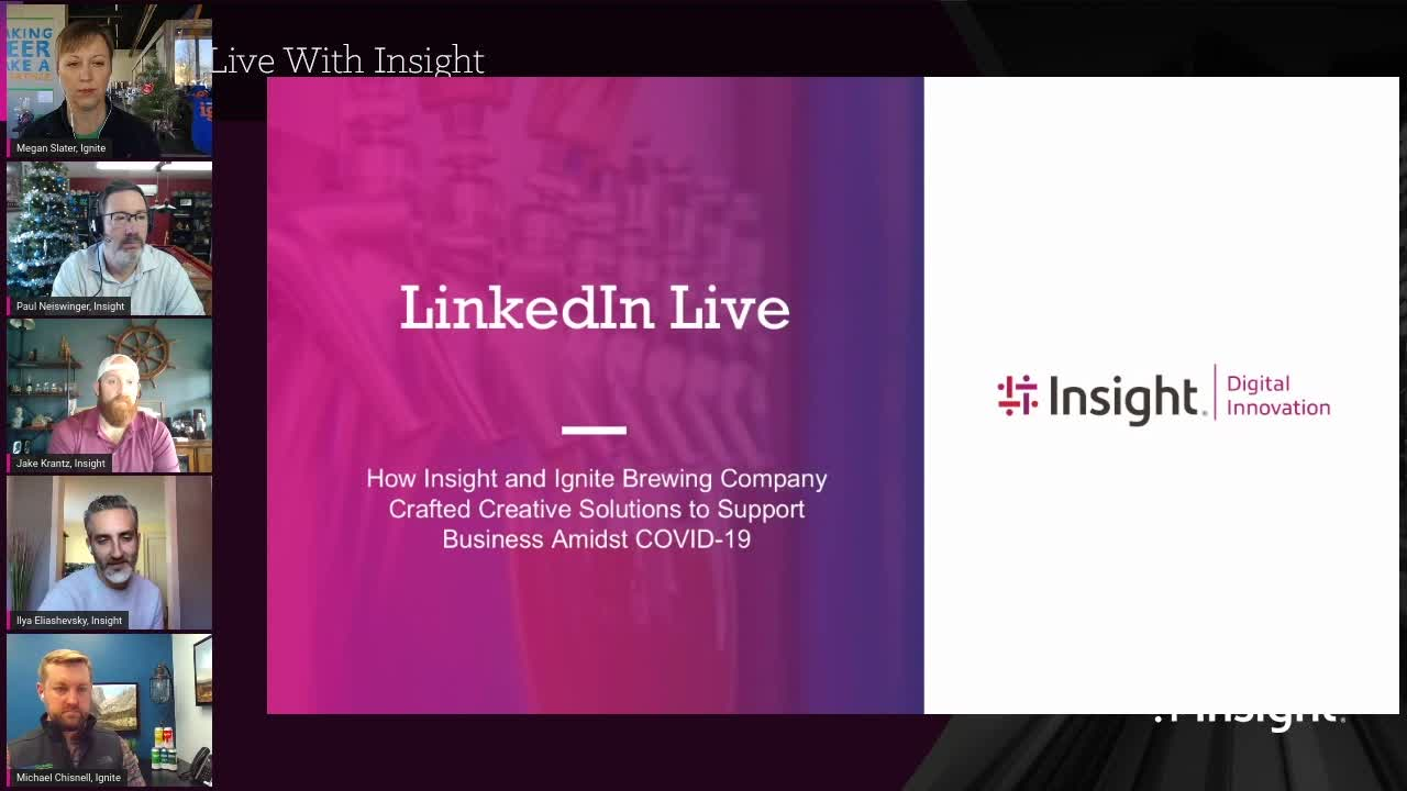 LinkedIn Live, COVID-19, connected platform, customer safety