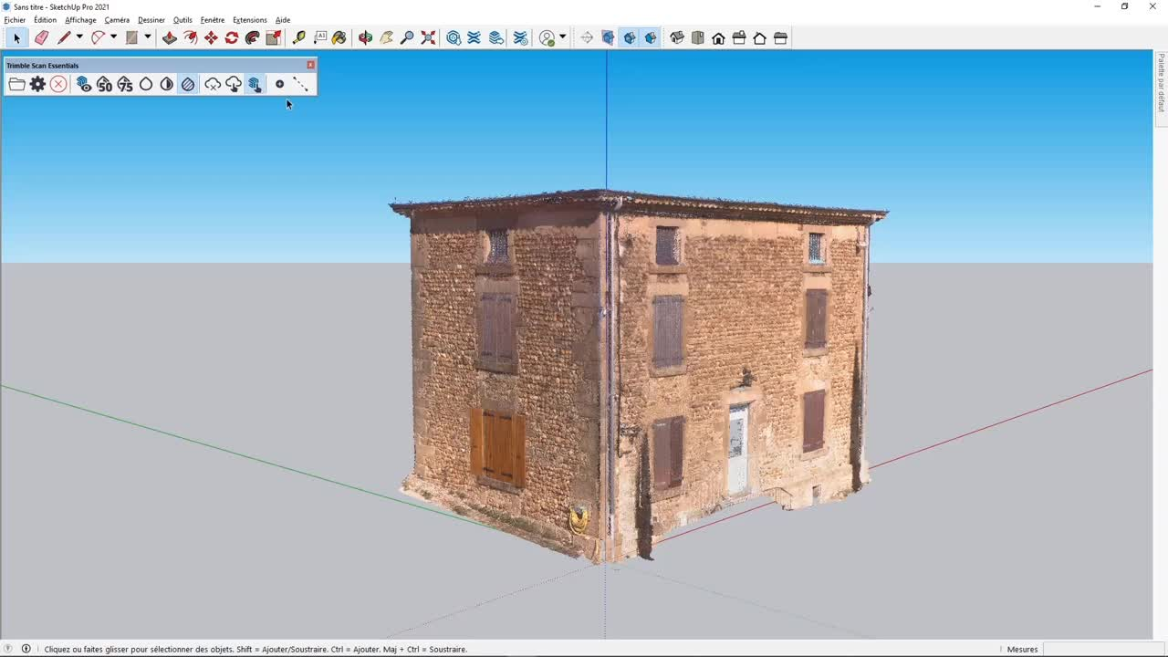 Trimble Scan Essentials for SketchUp