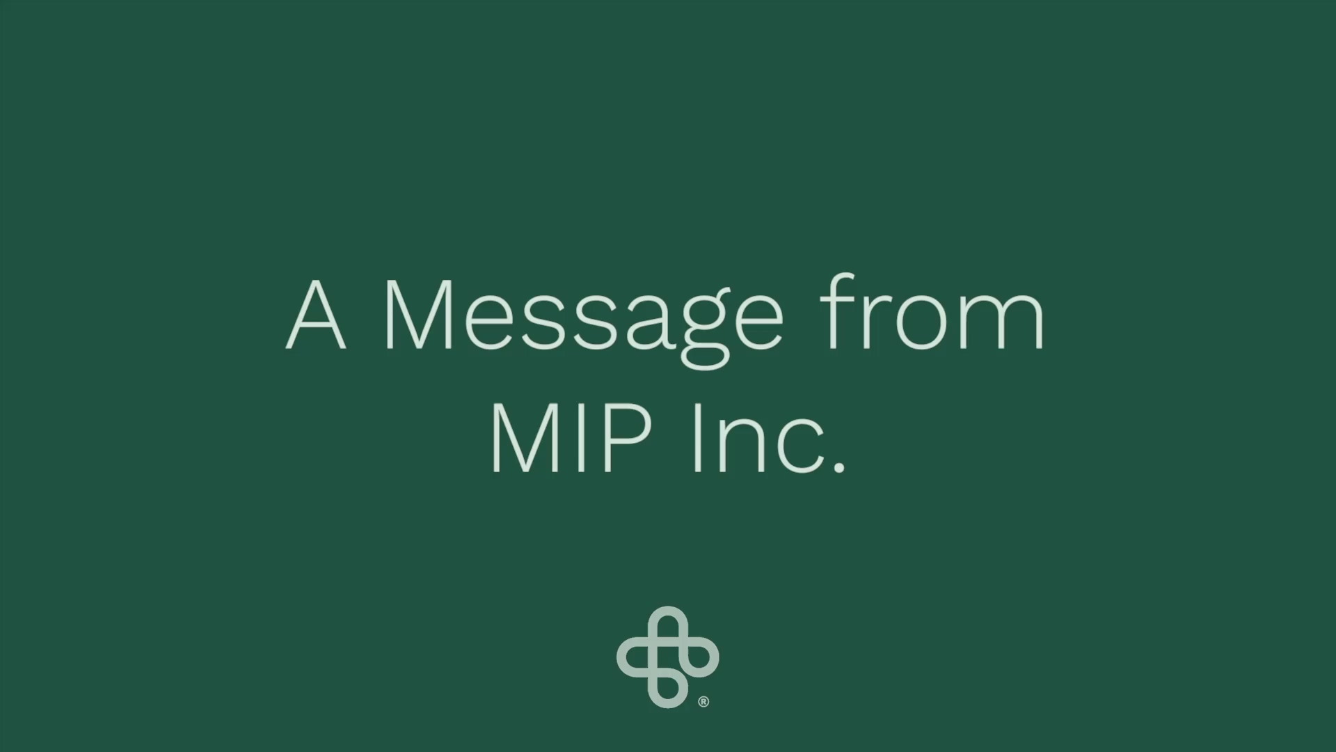 Happy Holidays from MIP Inc.