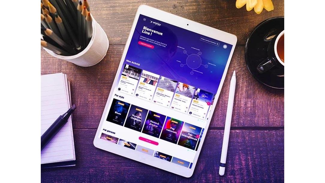 Recherche libre - app Wiplay