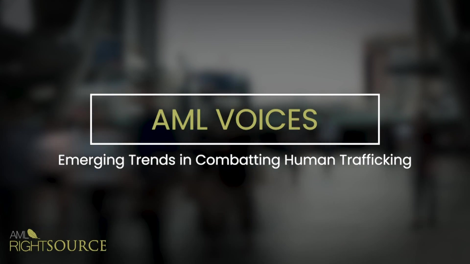 Emerging Trends in Combatting Human Trafficking