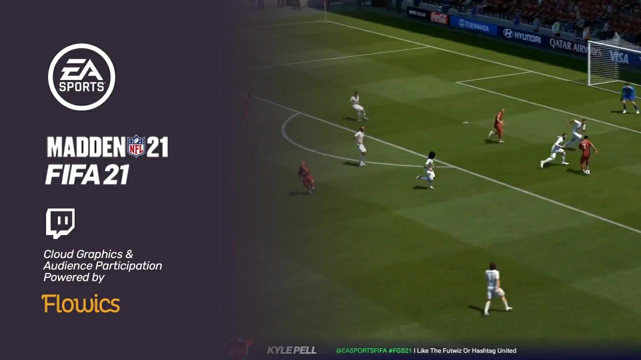 Flowics - EA Sports - Cloud Graphics & Audience Participation on Twitc