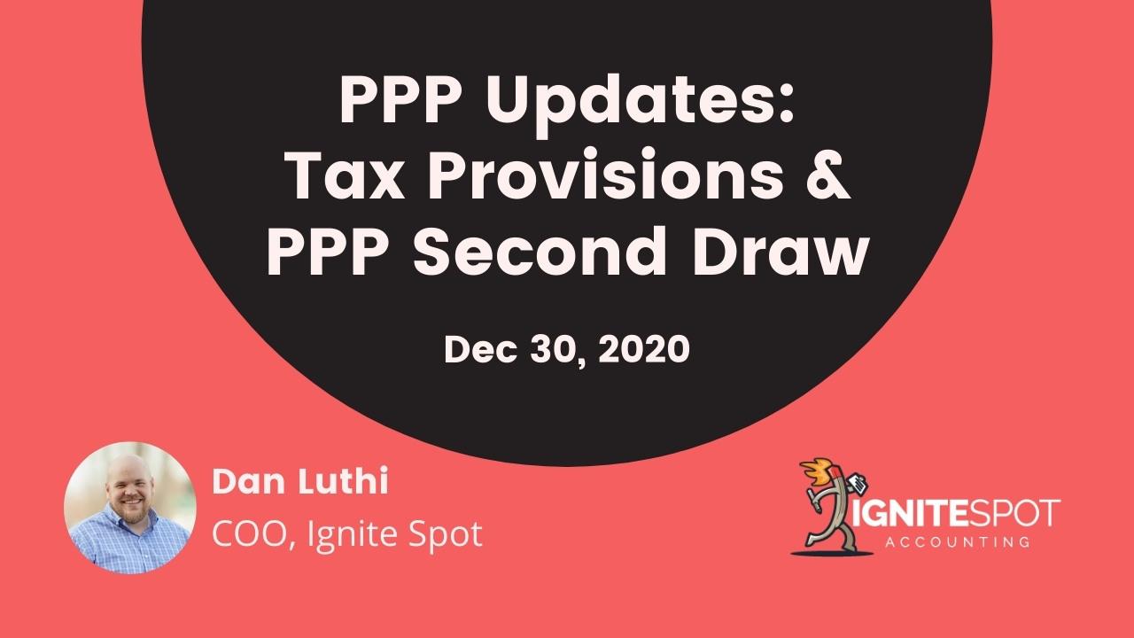 PPP Dec 2020 Update